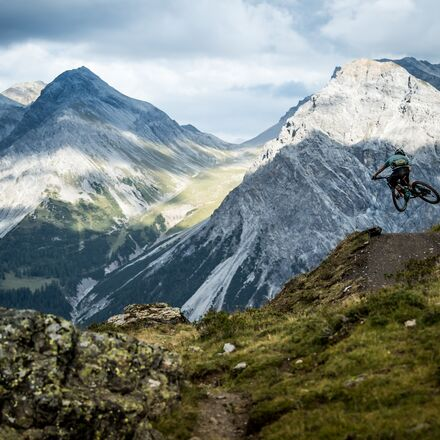 Hörnli Trail Action | © Arosa Tourismus / Nathan Hughes