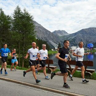 Swiss Management Run Arosa